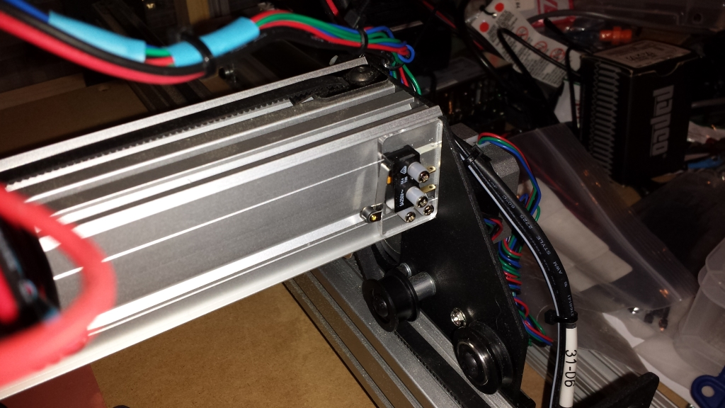 the shapeoko forum view topic my version of limit switch mounts